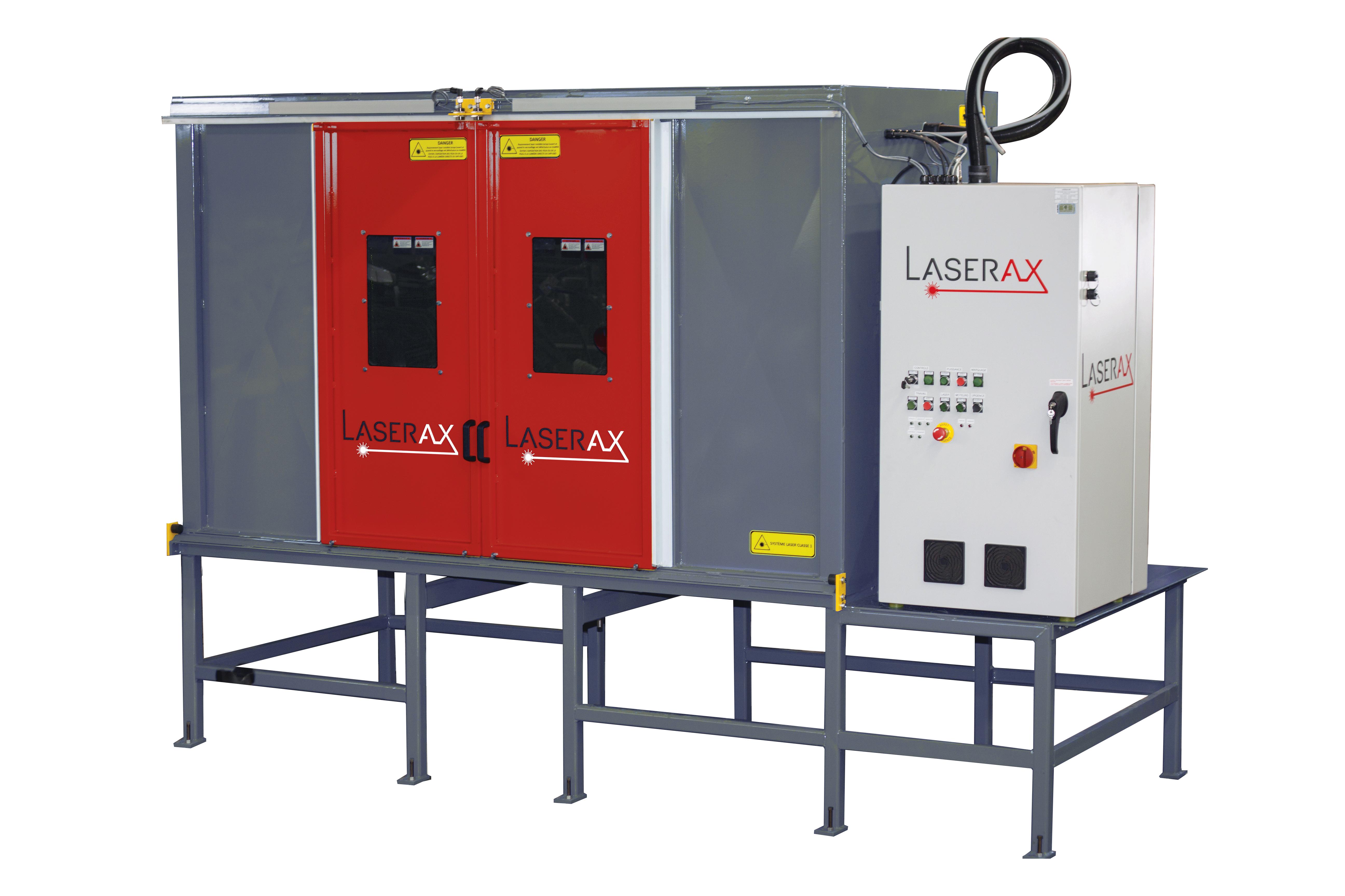 Image: Laserax's Standalone Safety Enclosure