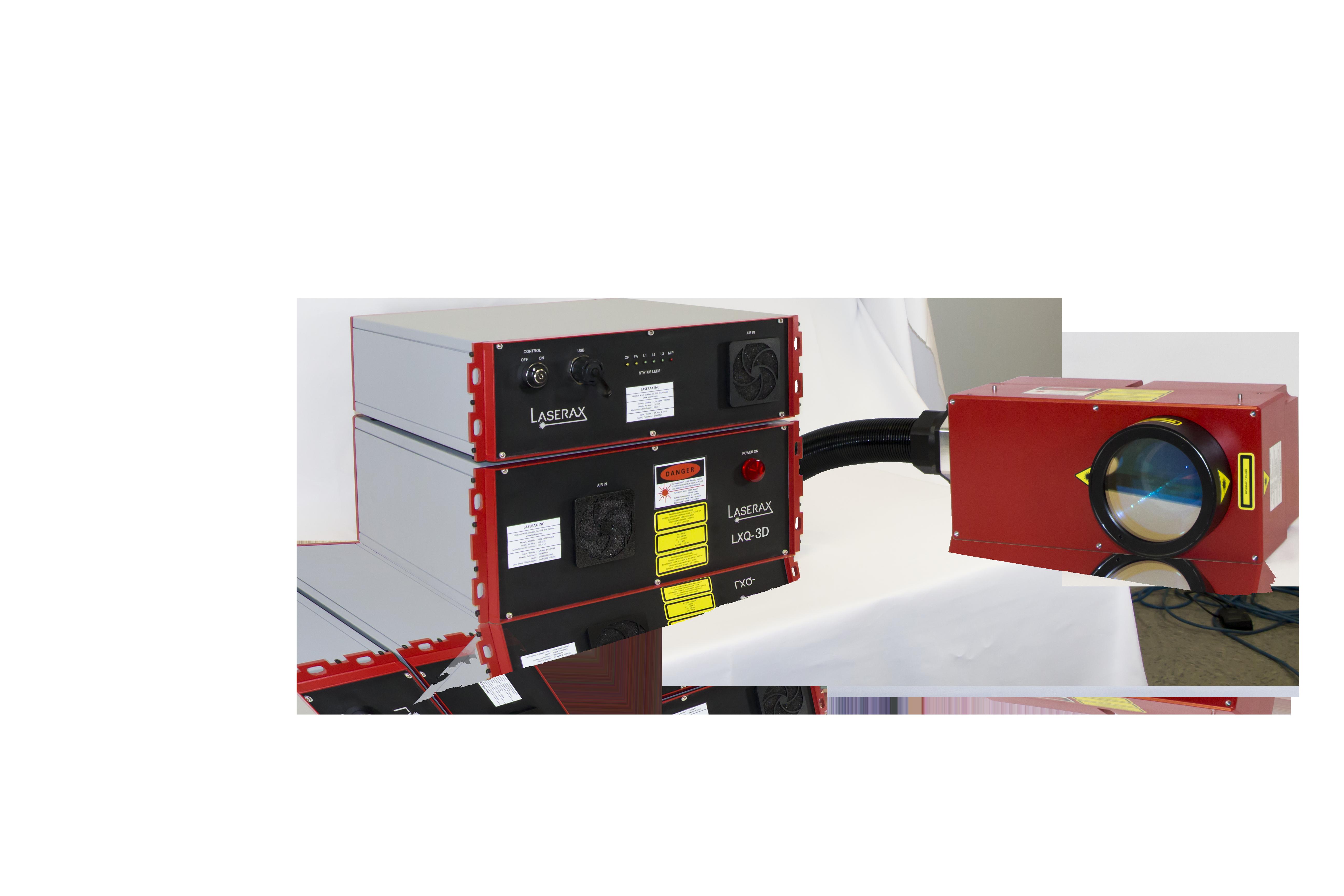 Laserax Industrial Laser Marker - LXQ 3D