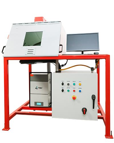 Laser marking workstation