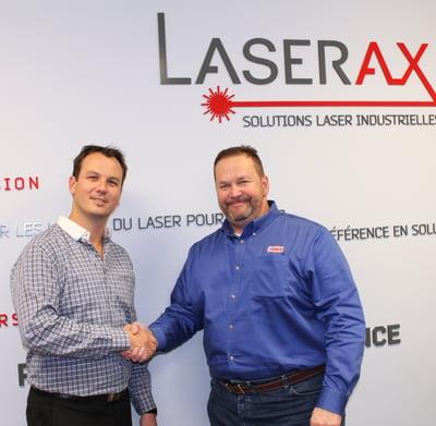 Partnership Pannier-Laserax Handshake