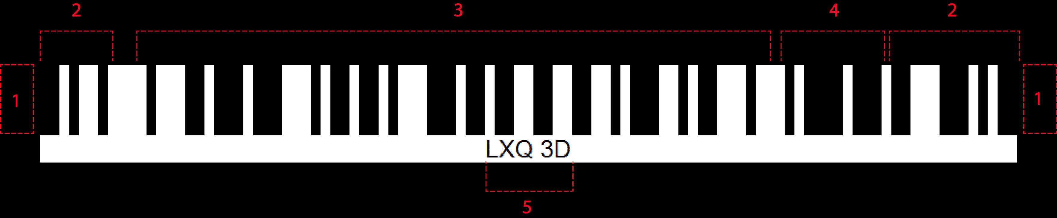 2D Barcode - LXQ 3D