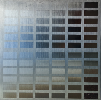 Example of Laser Annealing on Stainless Steel by Laserax