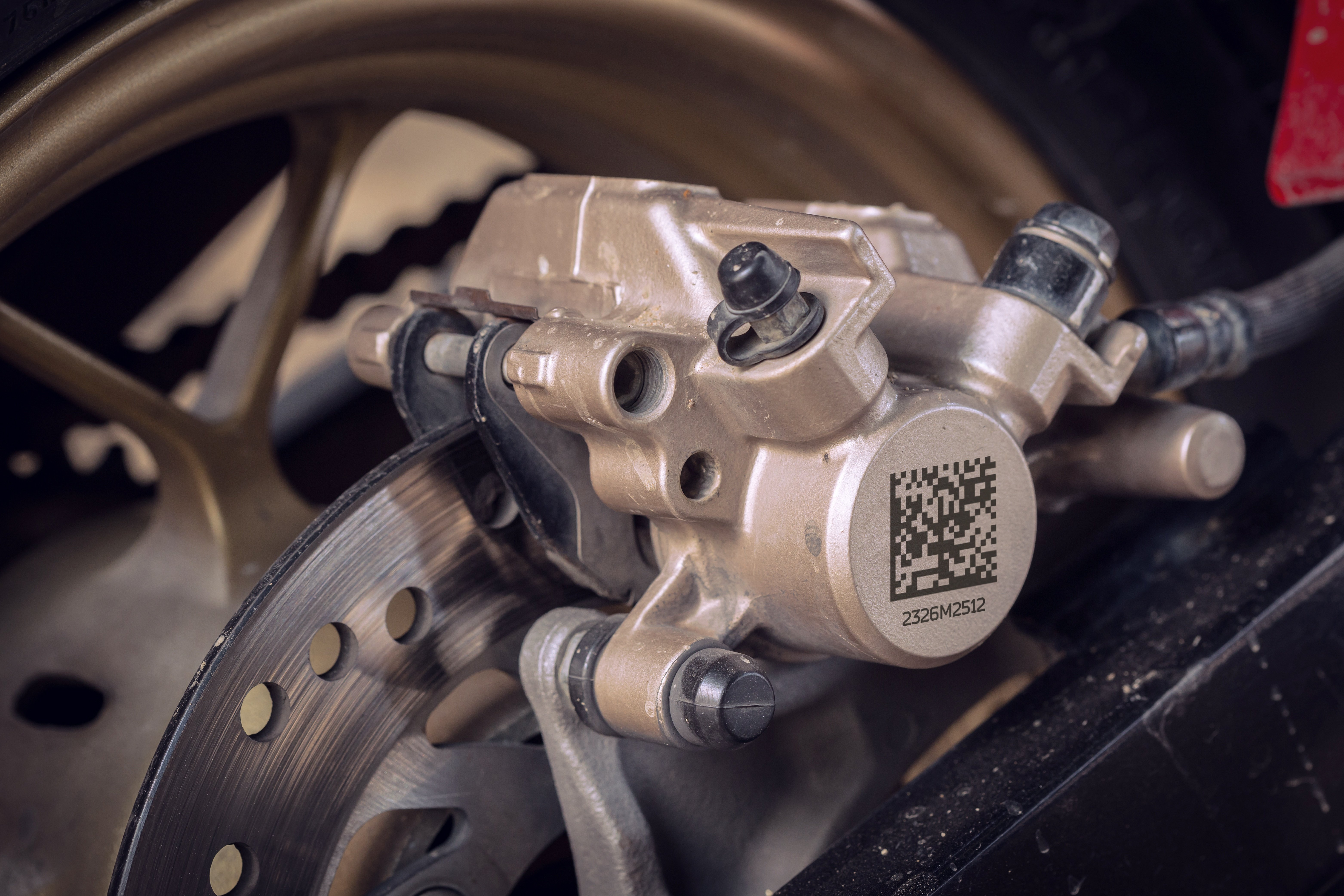 Laser Marking Die Casting with a DMC Laserax