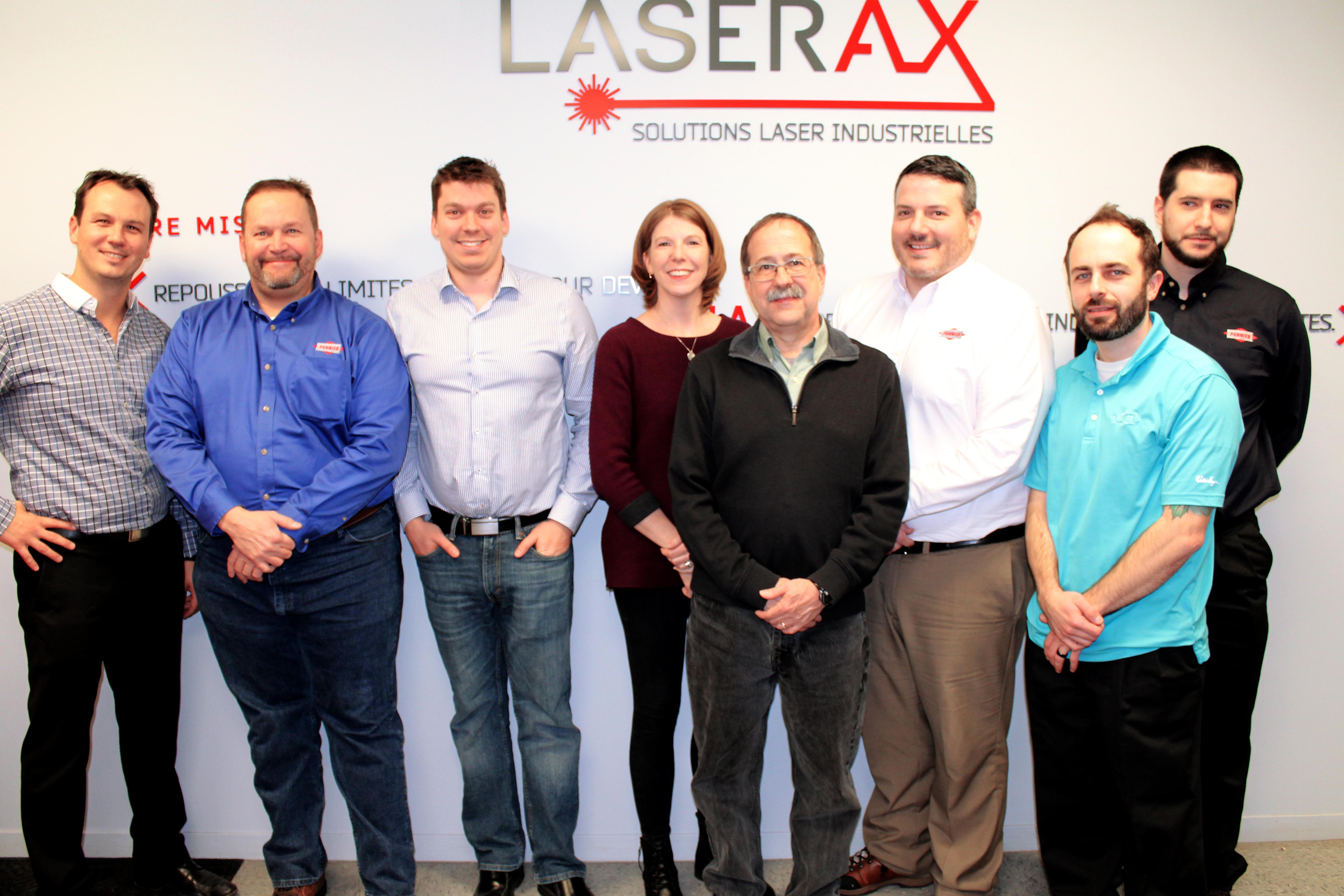 Partnership Pannier-Laserax Extended Team