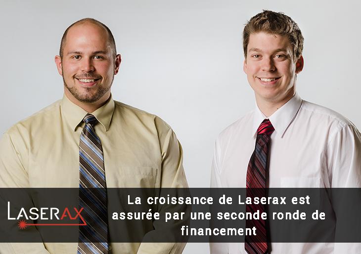 Seconde ronde de financement Laserax