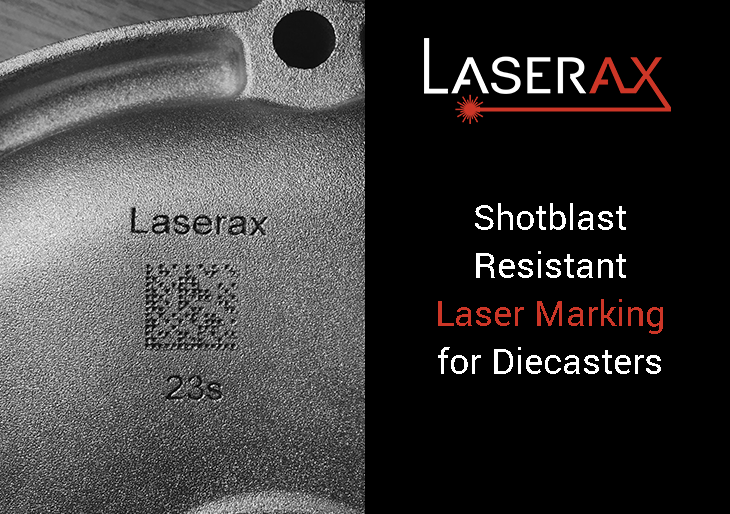 Shotblast Resistant Marking for Diecasters